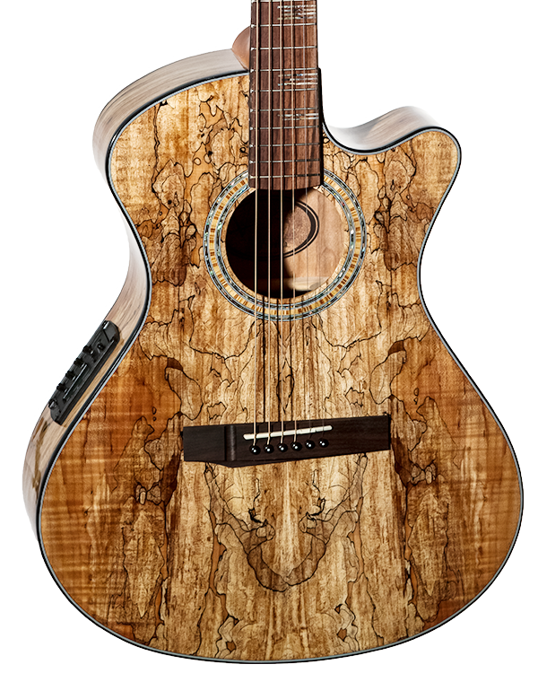eos 2s2 nat spalted maple andrew white guitars. Black Bedroom Furniture Sets. Home Design Ideas