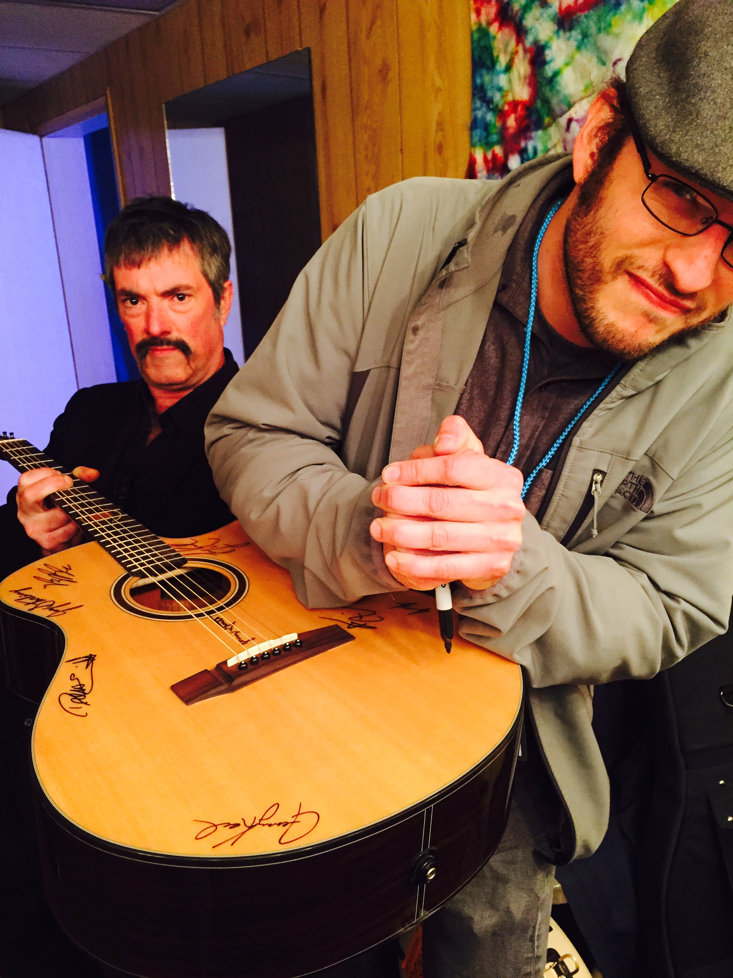 On the road with Larry Keel