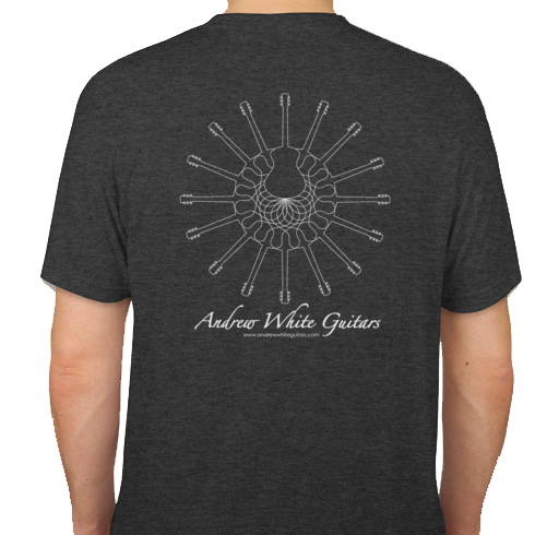 c0918fb20e1 Andrew White Guitars Sacred Guitar T-Shirt – Andrew White Guitars