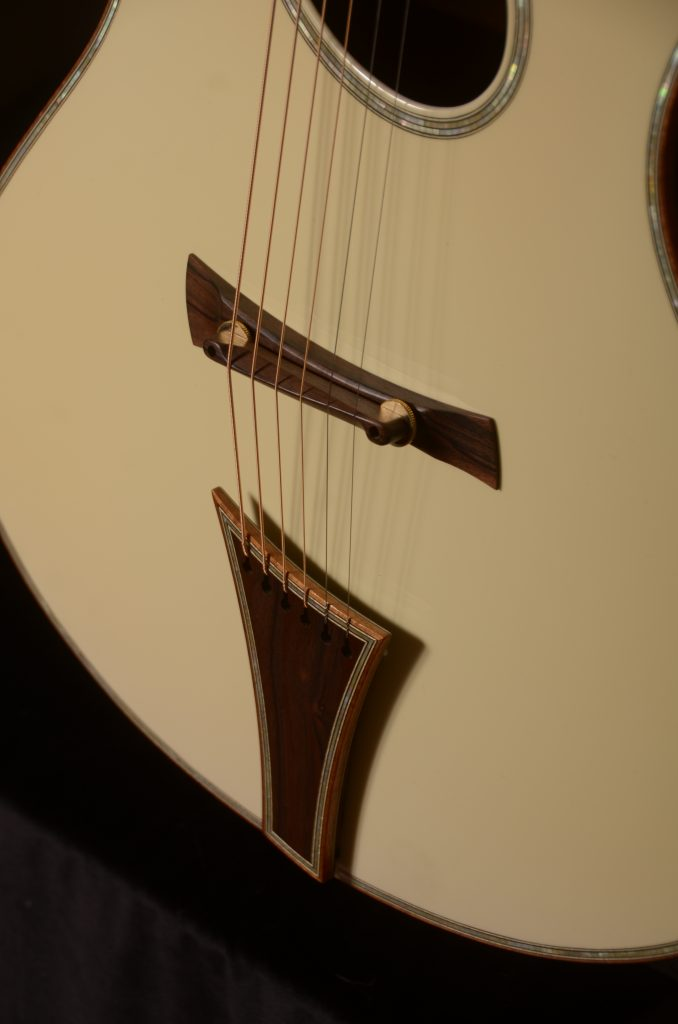 Eyecandy Olympic White Dome Top Andrew White Guitars